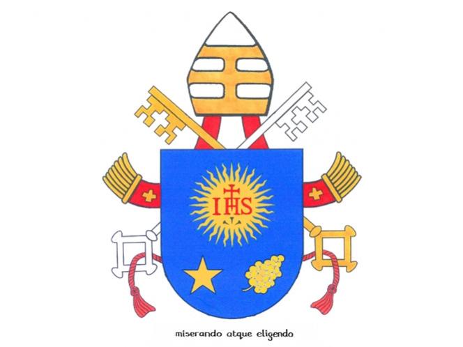 El Vaticano difunde el nuevo escudo papal